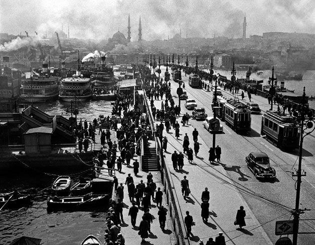 The old Istanbul by Ara Guler
