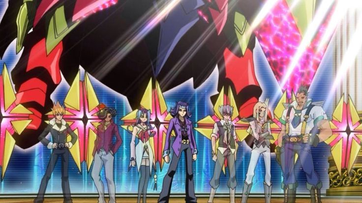Yugioh Zexal All Seven Barian Emperorss Reunited