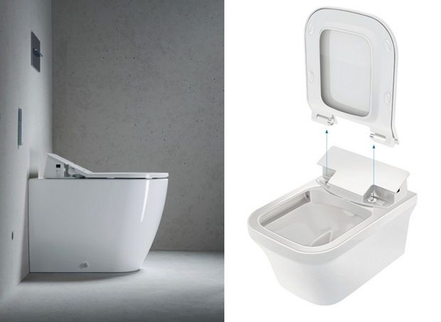 53 best images about wc 39 s y bid s toilets and bidets on - Duravit inodoros ...