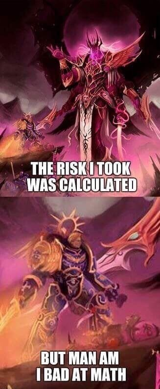 Why Are You Here 30k Slaanesh Daemon Prince Warhammer 40k