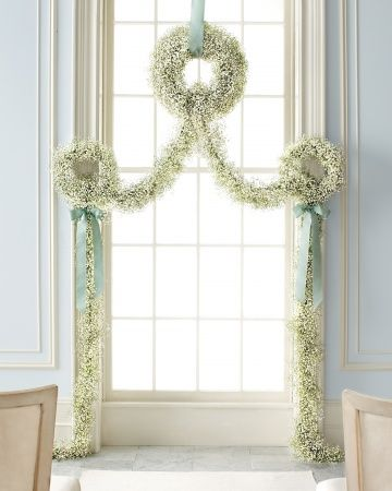 Hearts & Flowers: Decorating For Your Wedding Day: Easy Wedding Ceremony DIY Backdrop