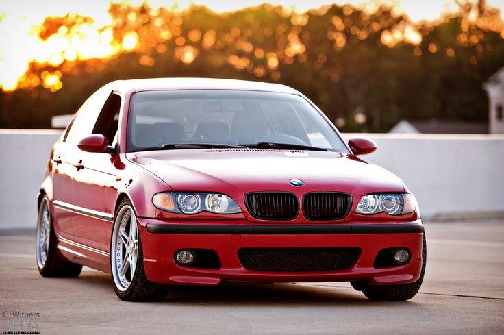 My 2003 BMW e46 330i zhp, performance package. Imola Red (Imola Rot II), on black leather. Racing Dynamics RS-2, 3 piece wheels in this photo. Taken at the ZHP Mafia Family Reunion 2012, Williamsburg, Virginia. Photo taken by Casey Withers of C.Withers Media of San Diego, California