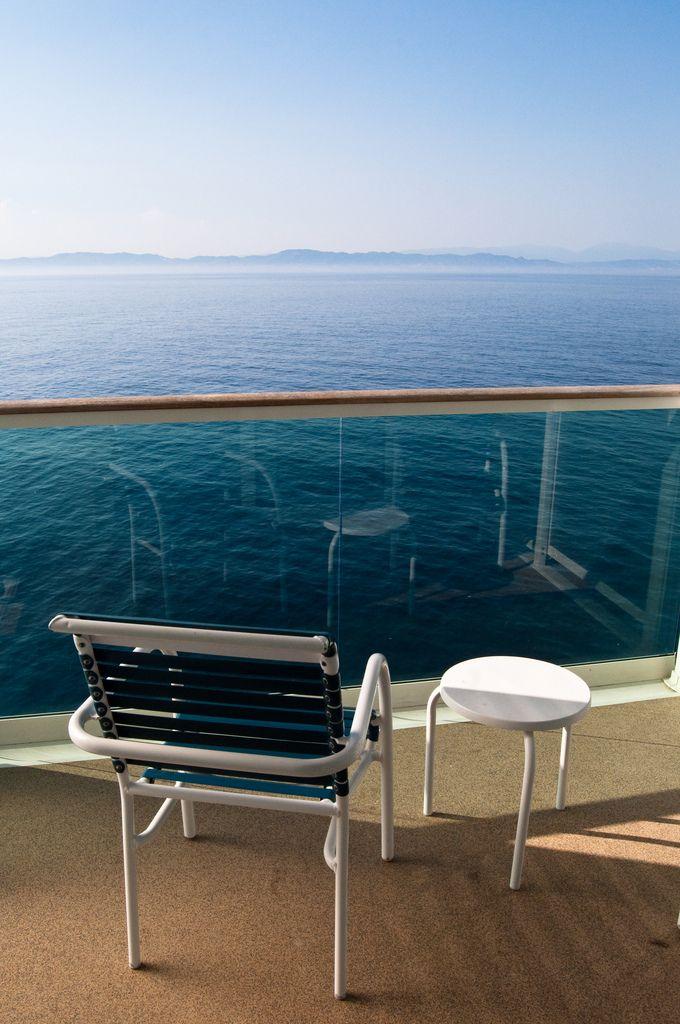 Balcony views on Liberty of the Seas.: Royalcaribbean
