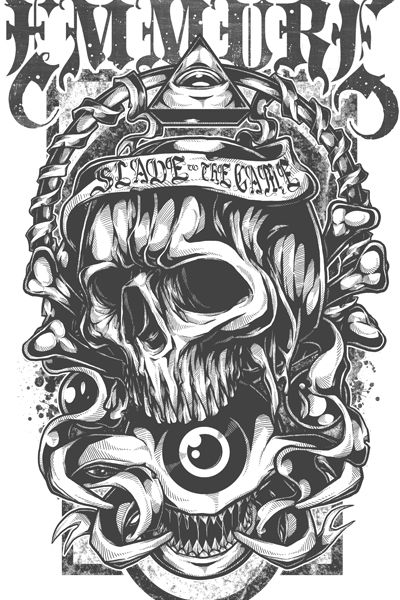 Skull of Horus by Jonas Art http://mintees.com/tees/345713-all-i-can-see Design SOLD to EMMURE...