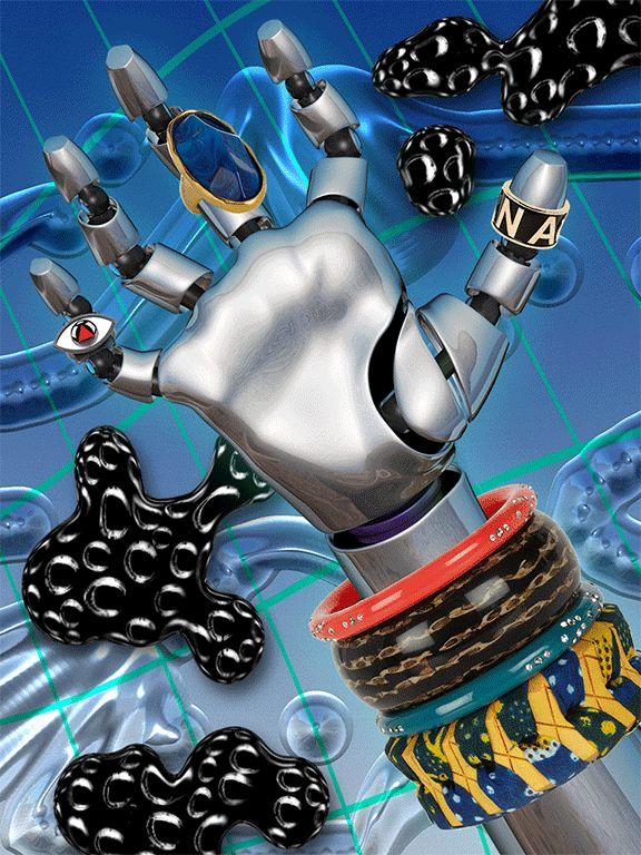 Roboshop by Sally Thurer, via Behance