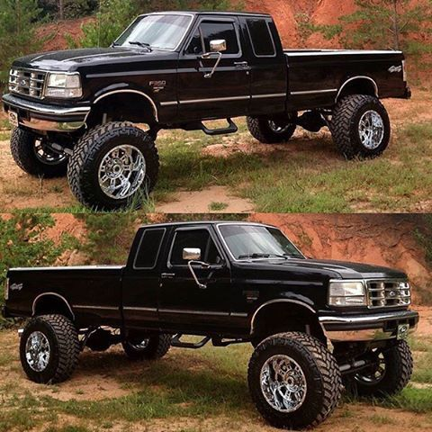 Now this is a truck! #4x4 #liftedpowerstroke #trucks #lifted