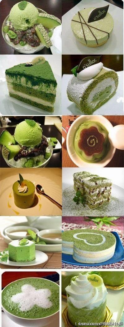 Green tea...