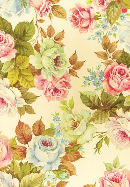 Floral Vintage Dream Art Print