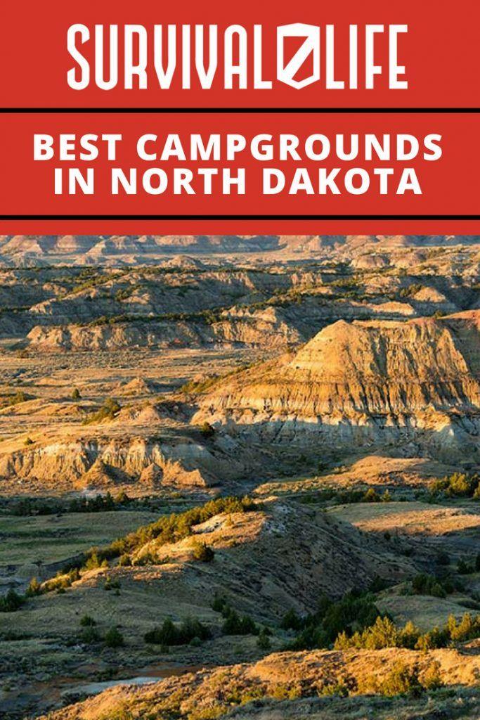 Best Campgrounds in North Dakota travel Pinterest Survival