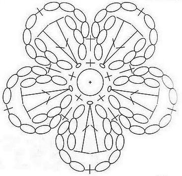Einfache Blume