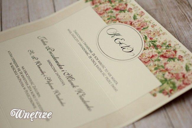 Zaproszenia i zawiadomienia Avril - Amelia wedding