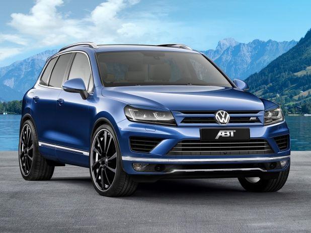 VW Touareg 3.0 TDI: www.santanvw.com