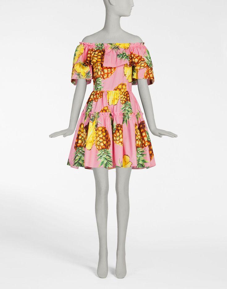 Ananas Printed Espadrillas Spring/summerDolce & Gabbana m1rsGgq