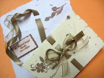 Invitaciones de boda creativas [50 invitaciones especiales]