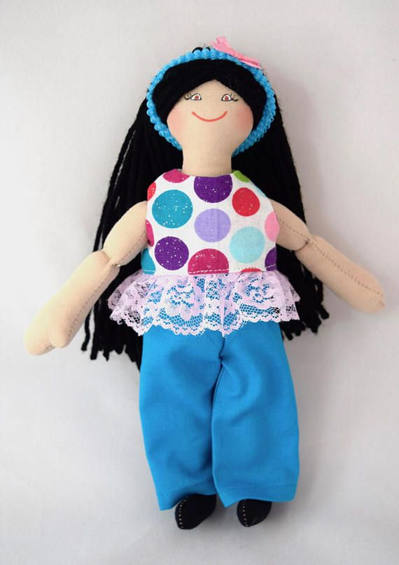 Asian Girl Doll  Toy Doll  For Kids  Handmade