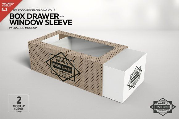 Download Box Window Sleeve Packaging Mockup Sleeve Packaging Packaging Mockup Free Packaging Mockup