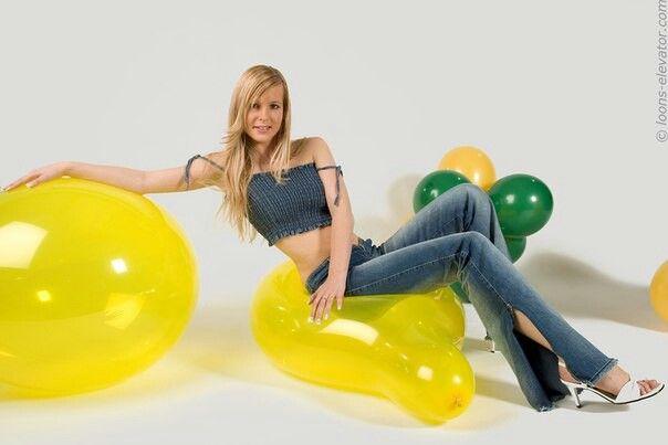 Looner Girl   Balloons   Pinterest   Girls
