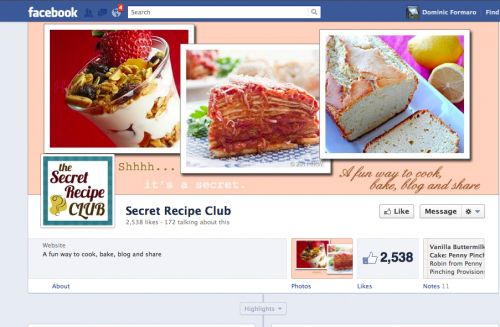 Secret Recipe Club facebook page with a new look!: New Looks, Secret Recipe, Favorit Recipe, Club Facebook, Shared Recipes, Recipe Club, Favorite Recipes