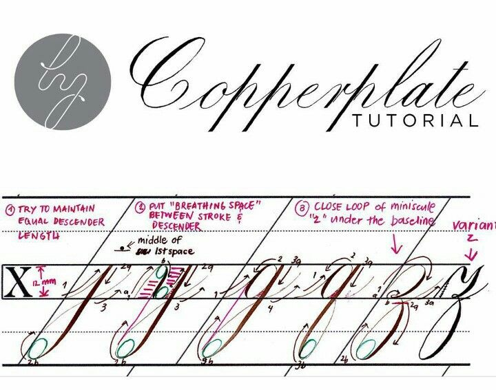 788 Best Images About Calligraphy Technical Instruction