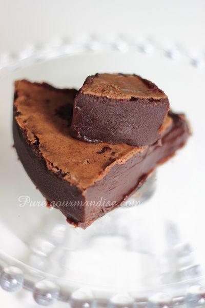 Fondant fudge au chocolat Poulain au Carambar - www.Puregourmandise.com