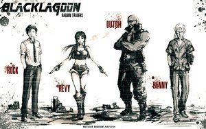 Арт с имиджборд / Black Lagoon: The Second Barrage / Аниме