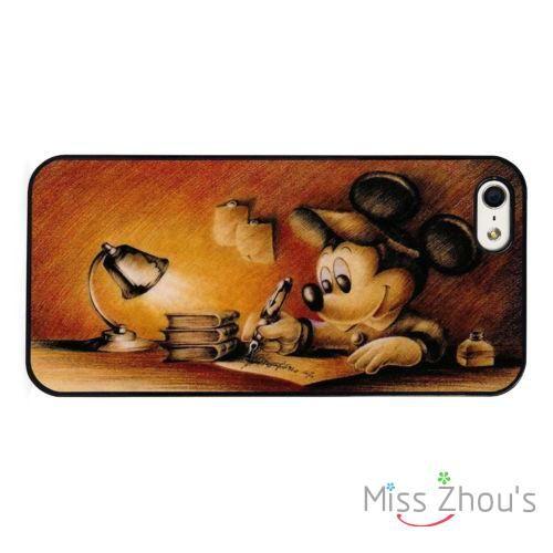 Микки Маус Винтаж Искусство мобильный телефон случаях крышка для Samsung Galaxy Mini S3/4/5/6/7 edge плюс Note2/3/4/5