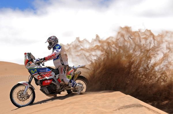 Gerard Farres (ESP) Rally Dakar 2010