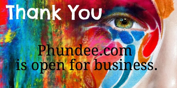 Phundee.com open for business - dedicated to empowering #entertainment and #arts through #crowdfunding
