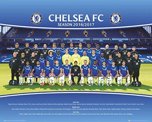GB eye Ltd Chelsea, Team Photo 16/17, Mini Poster, 40x50cm, Various