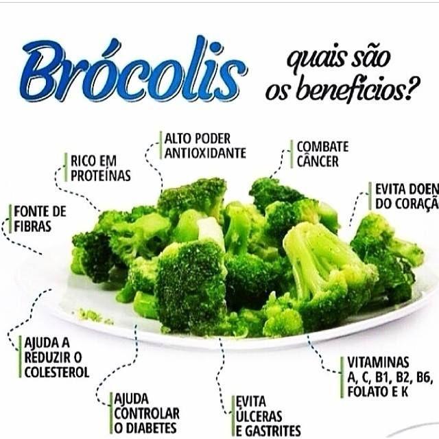 Benefícios do Brócolis.