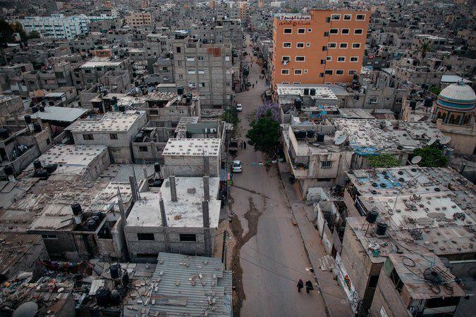 Gaza: the Jabalia refugee camp, in the northern Gaza Strip