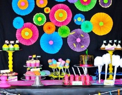Decorating idea for teen parties | Handspire [Spanish page content]
