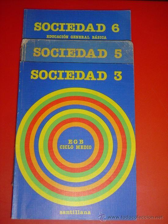 Libro de texto Sociedad (Santillana)