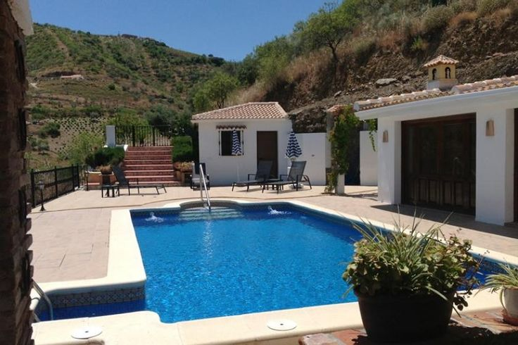 "Rural Spanish country house ""cortijo"" in Andalucia with own pool, BBQ, satellite TV, air conditioning and wi-fi internet - owned by Guillem Balague of Sky Sports UK.  Sleeps 8."