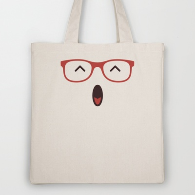 Yo ! Tote Bag by Playmoji ® - $18.00