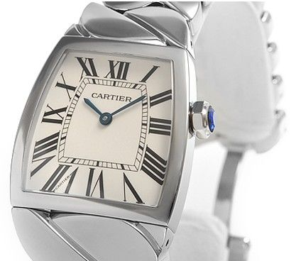 Cartier La Dona Steel Ladies Silver Dial Quartz Watch W660022I