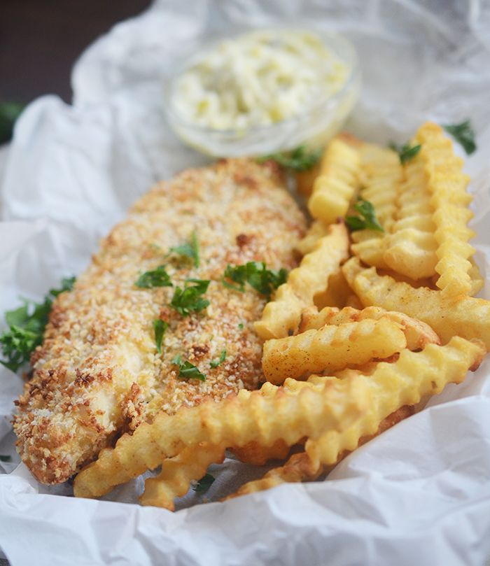 Air Fryer Fish and Chips Healthy – Recipe Diaries