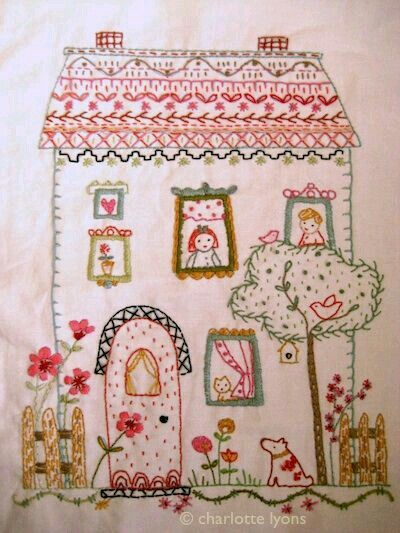 "Sampler Blessings ideas~""Hattie's Embroidery Blessings""~"