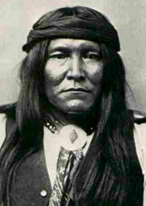 """Cochise (1805 - 1874) was leader of the Chihuicahui local group of the Chokonen (""""central"""" or """"real"""" Chiricahua) and principal chief (or nantan) of the Chokonen band of the Chiricahua Apache and the leader of an uprising that began in 1861. Cochise County, Arizona is named after him."""