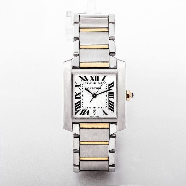 Cartier Tank Francaise Gents Watch with Automatic Movement