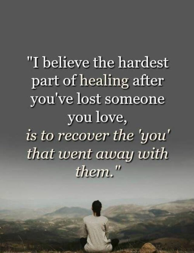 Grieving Quote Especially Hard Losing Two Close Family Members In