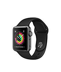 Apple Watch Reviews – Apple Watch Series 3 Review - Apple Watch Series 3 Aluminum case 42mm GPS ONLY (Space Gray Aluminum Case with Black Sport Band)