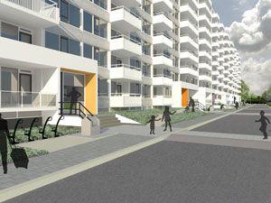 Herinrichting rond flat Ankaradreef, de Verduurzamers, Vollmer & Partners