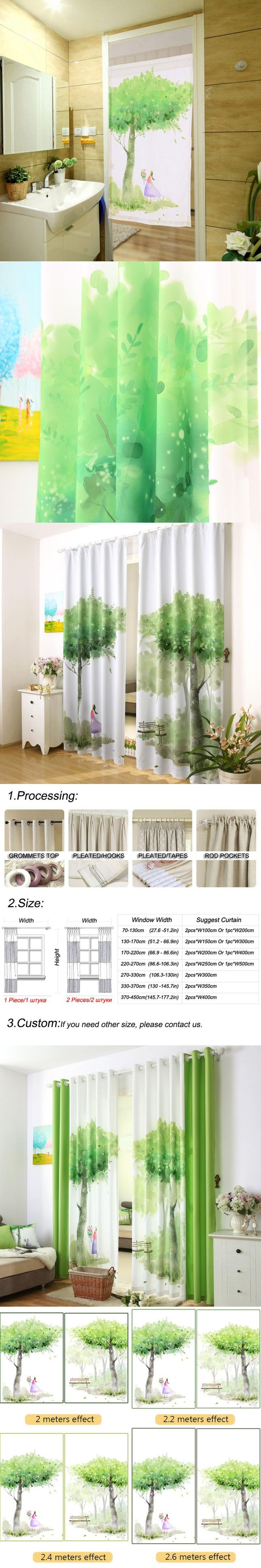 Thermal Drapes Beautiful Drape Curtains Short Thread Window Treatments Kitchen Swag Curtains Strip Curtain String Blinds Balcony