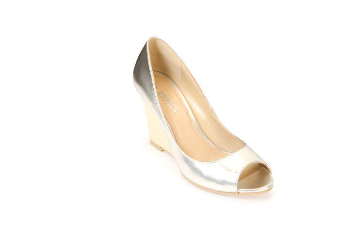 SAN JOSE Silver R410.00 from www.madisonheartofnewyork.com follow us on Twitter @Madison Shoes SA