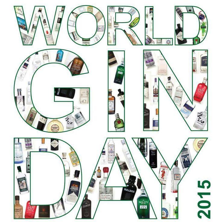 World Gin Day 13th June 2015