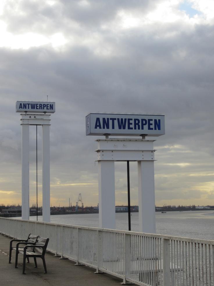 River the Scheldt @ Antwerp #belgium