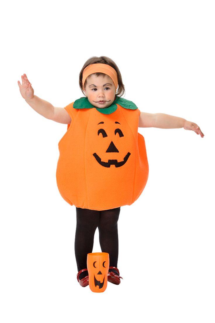 DisfracesMimo, disfraz de calabaza con luz bebe varias tallas. Vestirás a los más pequeños de la casa de forma divertida para acompañarte en Halloween. Este disfraz es ideal para tus fiestas temáticas de miedo y zombie para infantil. fabricacion nacional.