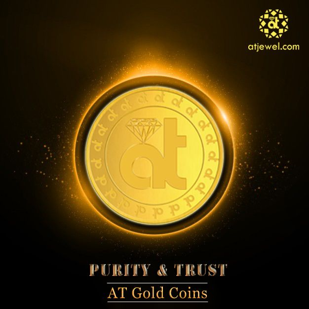 Design Of The Day..... This New Year Buy AT Gold Coins And Make It Your Lucky Charm. Bring Your Home Purity & Trust With AT Gold Coins at Best Prize. #ATJewel #Diamonds #Gold #Purity #Trust  http://www.atjewel.com/gold-coins