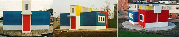 NEOPLASTICISMO   JACOBUS-JOHANNES-PIETER OUD (Purmerend, 1890-La Haya, 1963) En su obra tienen un papel importante su independencia como arquitecto y la concepción social de su profesión. Sus primeros trabajos se ajustan a la arquitectura tradicional holandesa, de la cual son buen ejemplo las casas construidas con ladrillo en su ciudad natal, que además reflejan también la influencia de Berlage y de Wright